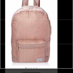 Herschel packable daypack one rose ash.